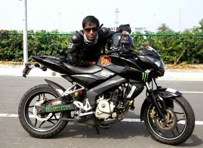 Pulsar Bike 200 Modified