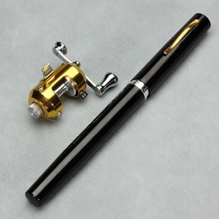 Pen Fishing Rod | Alat Pancing Mini Portabel