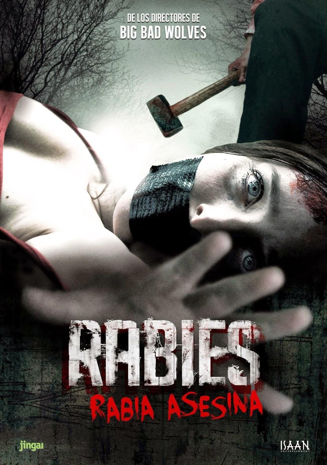 DVD ZONE: Rabies - Rabia Asesina (2010)