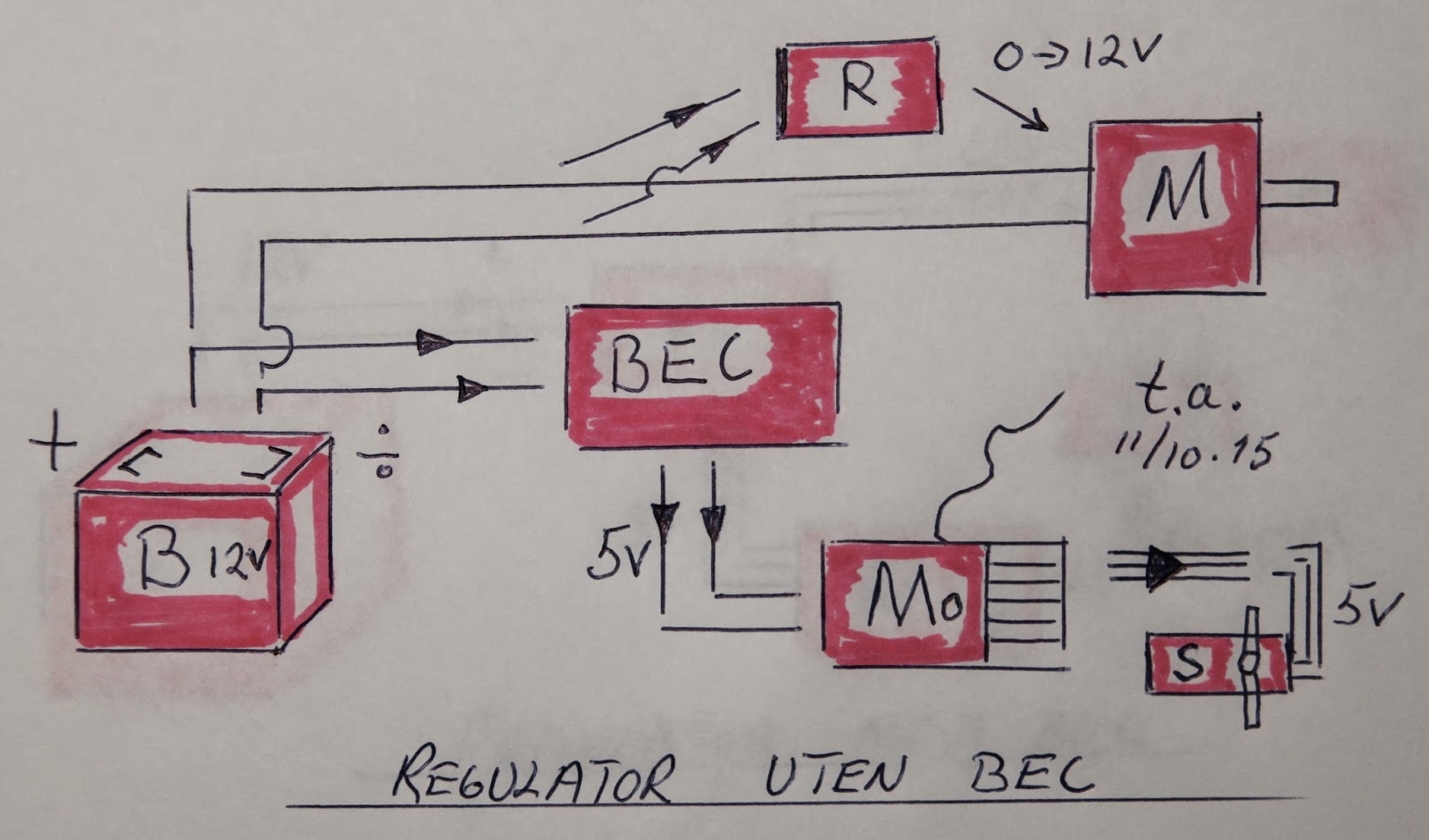 modellb u00e5ter bec  battery eliminator circuit Vtvm Battery Eliminator Antique Electronic Supply Battery Eliminator