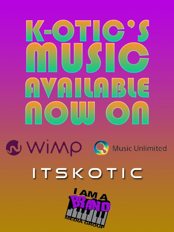 K-OTIC Music WIMP Sony Unlimited promotional flyer image