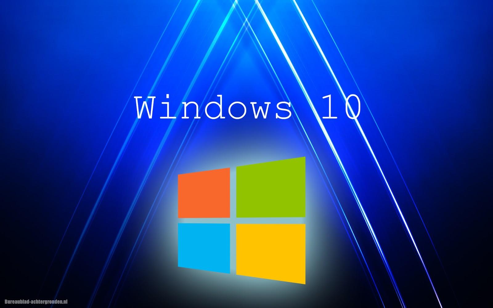 Windows 10 achtergronden mooie leuke achtergronden voor for Bureau 3d windows 10