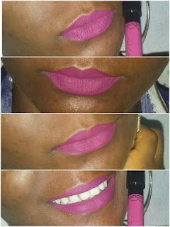rouge à lèvres swatch
