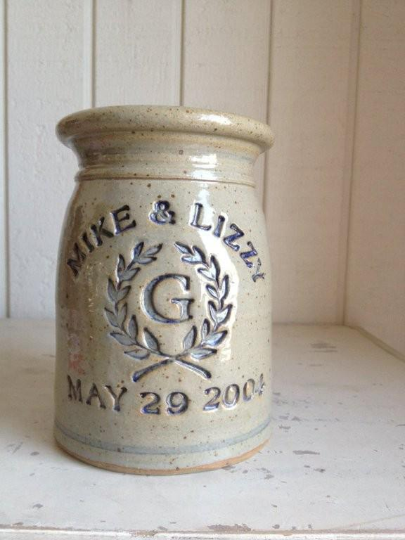 Personalized Marriage Crock