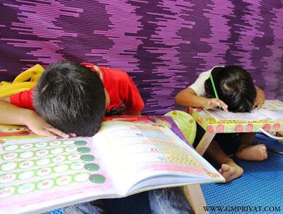 stress sama pelajaran di sekolah
