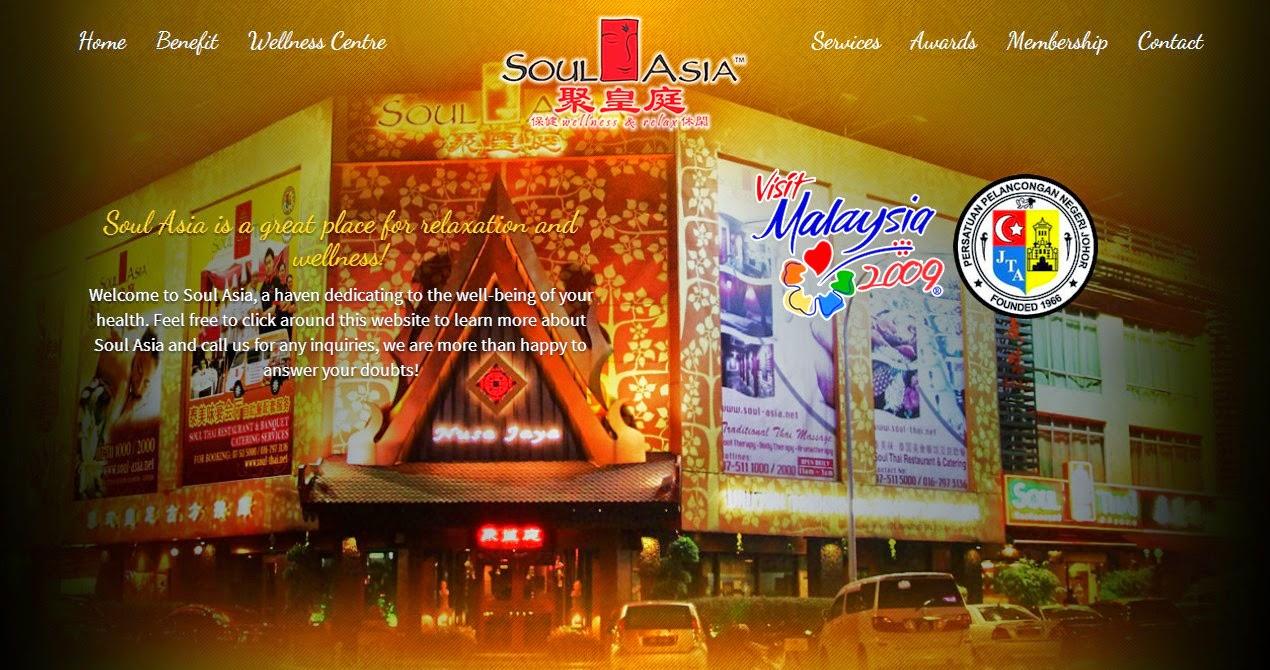 Johor Bahru massage spa Soul Asia