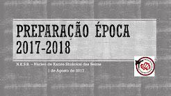 Cartaz Época 2017/2018