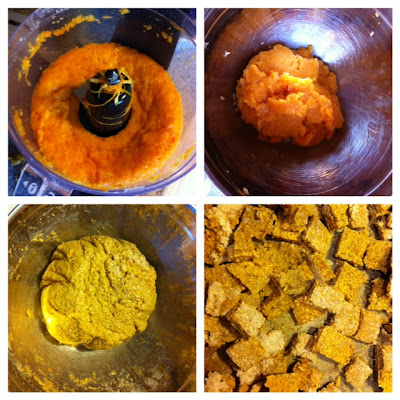 rice flour oat fresh pumpkin healthy dog treats how to make your own