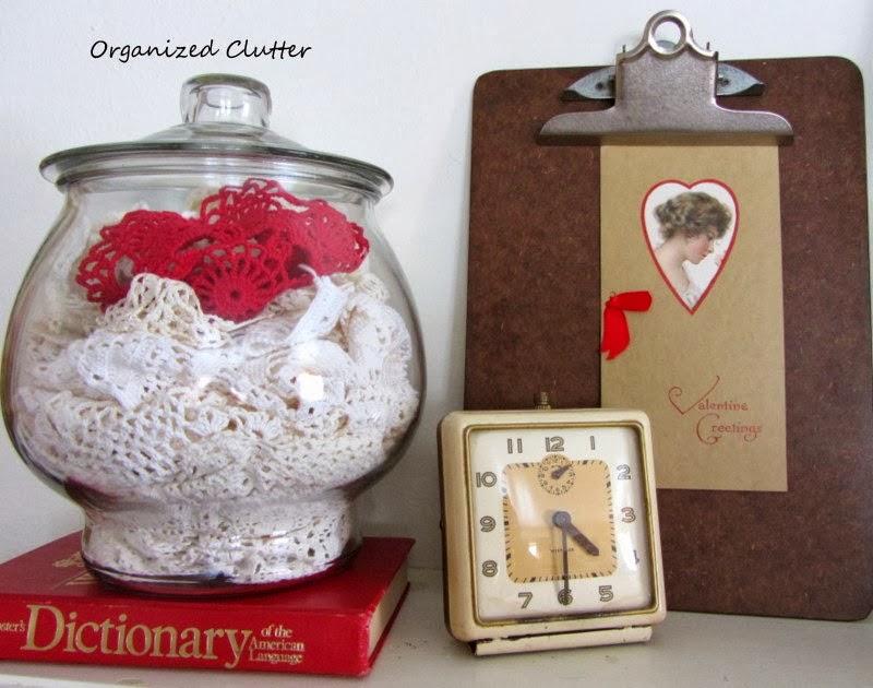 Valentine's Day Clipboard www.organizedclutterqueen.blogspot.com.