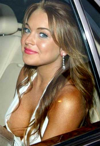 Good Oops nipple slip lindsay lohan wallpaper