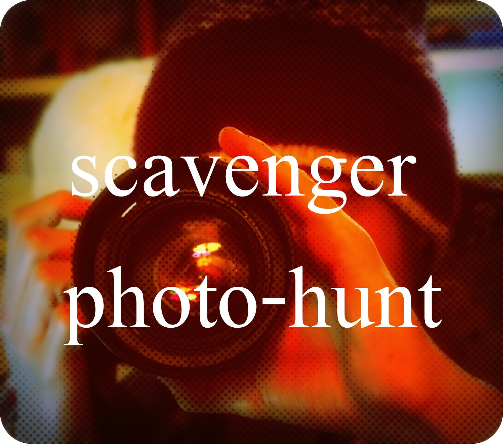 Scavenger photo-hunt BIG REVEAL for April is...
