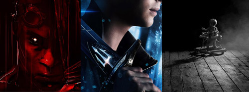 New posters for RIDDICK, PERCY JACKSON and INISDIOUS CHAPTER 2