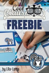 Freebie Cool-Claus Stundenplan und co.