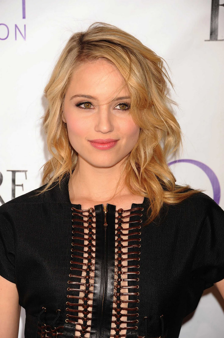 Fresh Look Celebrity Dianna Agron Hairstyles 43