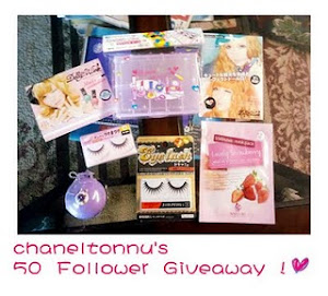 Chaneltonnu's 50 follower giveaway!