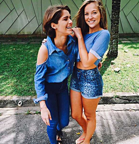 Isabella Santoni e Gabi Lopes
