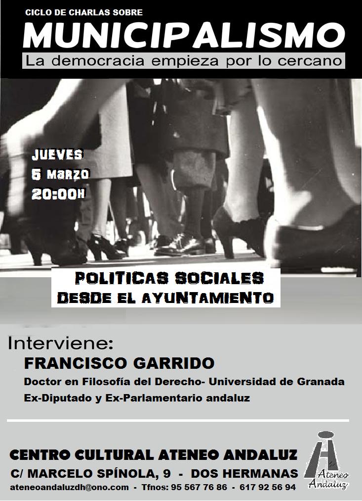 CHARLAS ATENEO MUNICIPALISMO