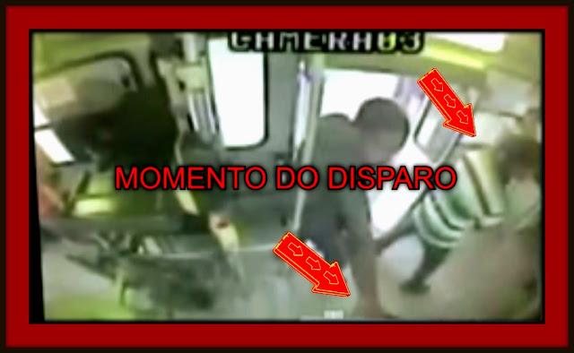 """""""Vídeo"""" mostra momento que mulher é assassinada durante assalto a ônibus em Aracaju"""