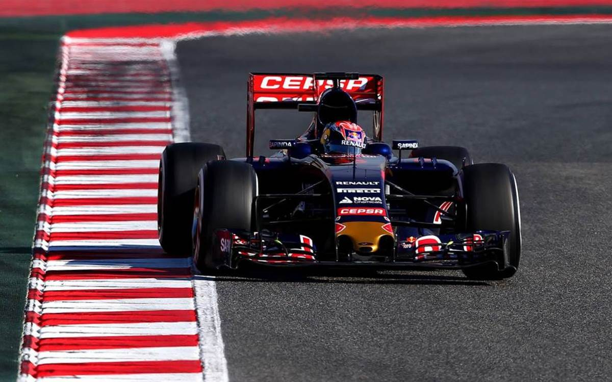 Max Verstappen - Toro Rosso/Renault
