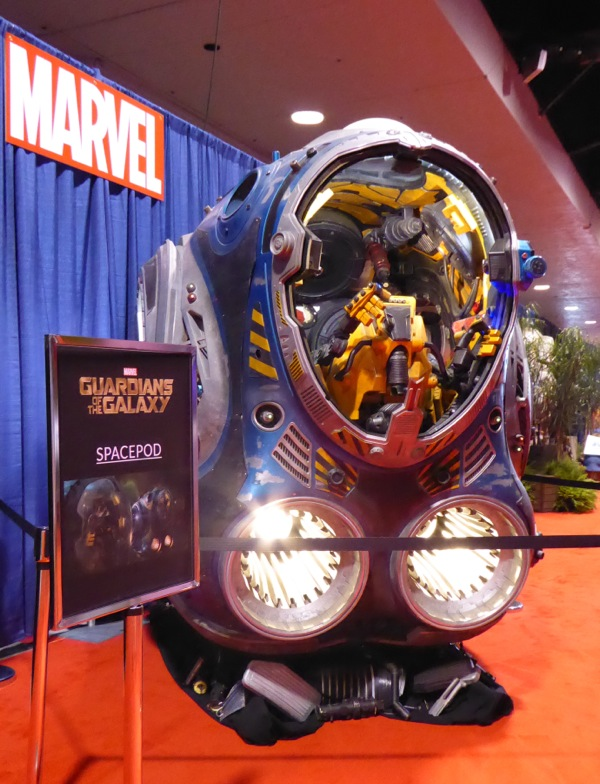 Marvel Guardians of the Galaxy spacepod prop
