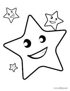 dibujos de estrellas