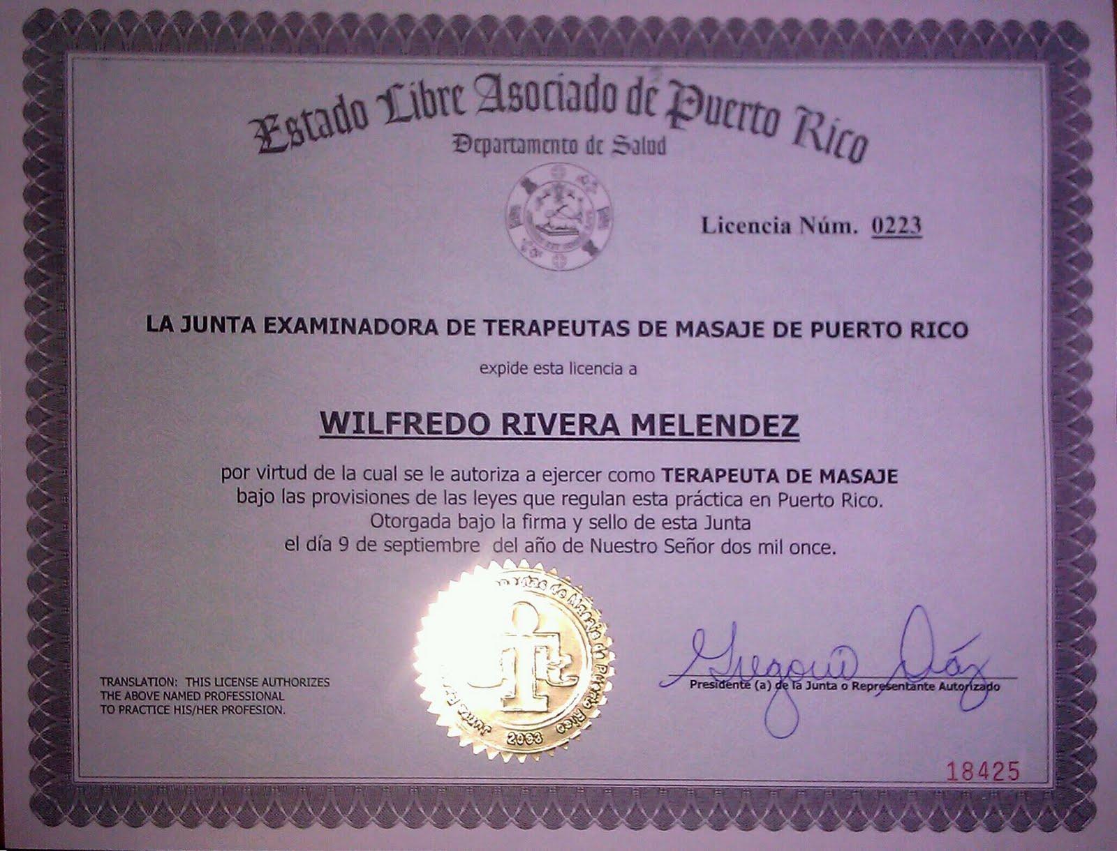 Masaje en puerto rico massage in puerto rico licencia de terapeuta de masaje - Como llamar a puerto rico ...