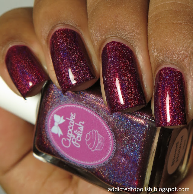cupcake polish blood hound