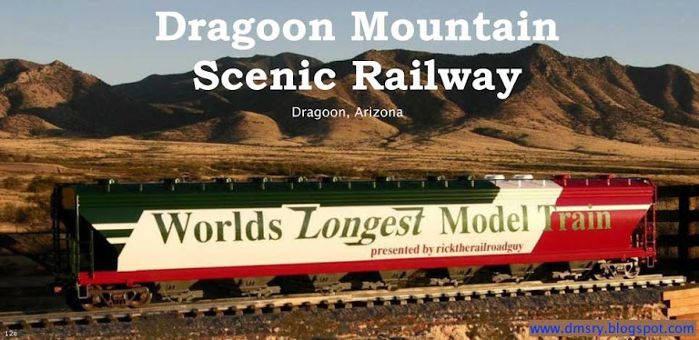 Dragoon Mountain Scenic Railway, Dragoon AZ