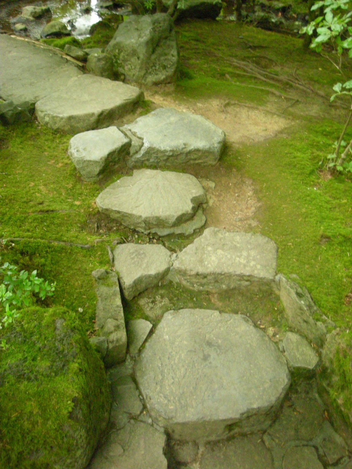 Japanese zen gardens top view - Zen Path