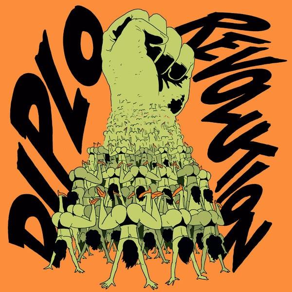 Diplo - Revolution EP  Cover
