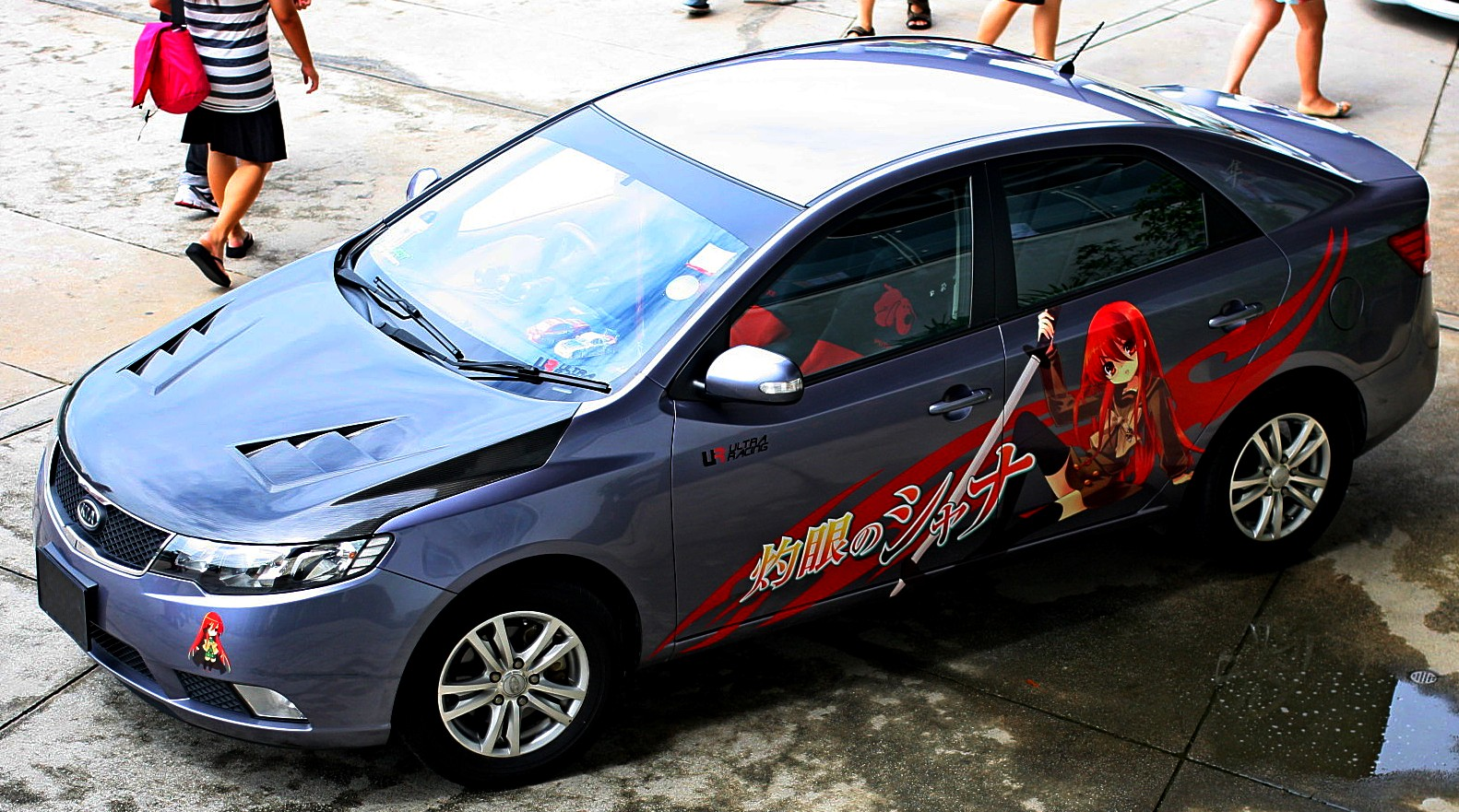 So Anyone Have Anime Decals On Their Car Itasha Forums - Design decals for cars
