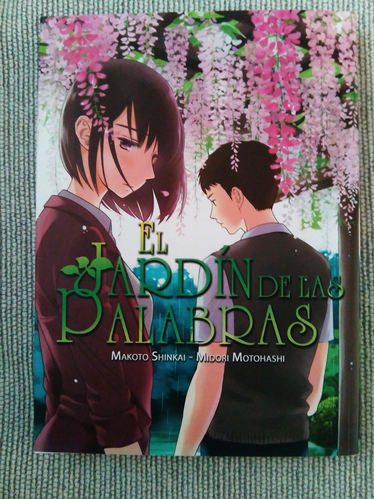 Full otaku rese a manga el jard n de las palabras for El jardin de las palabras filmaffinity