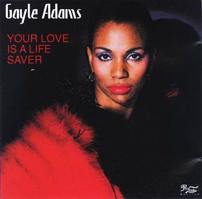 Gayle Adams - 1980 Your Love Is A Life Saver CD EXPANDED