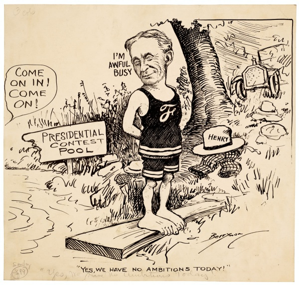 Economics In The 1920s Henry Ford Presidential Contest