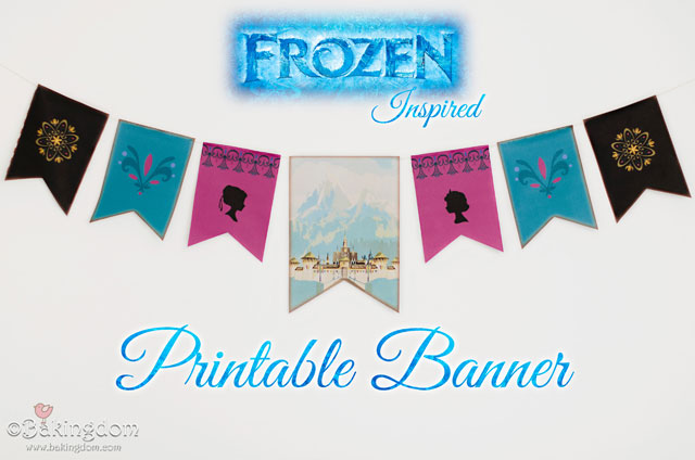 Unforgettable image throughout frozen banner printable