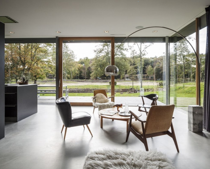 Design Attractor Beautiful Minimalist Villa In Netherlands Stunning Paul Rich Furniture Minimalist