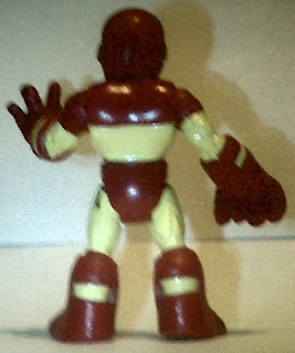 Back of Playskool 2010 Iron Man