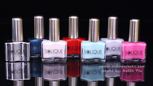A photo of Solique Gel Polishes