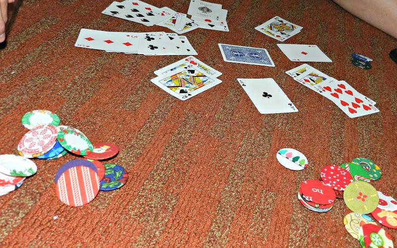 Blue poker chip worth