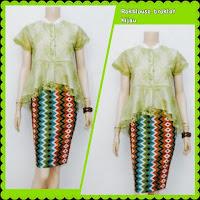 Baju Kebaya Broklat Motif Batik Rang Rang