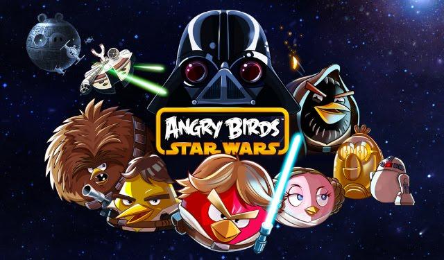 Portada angry birds star wars