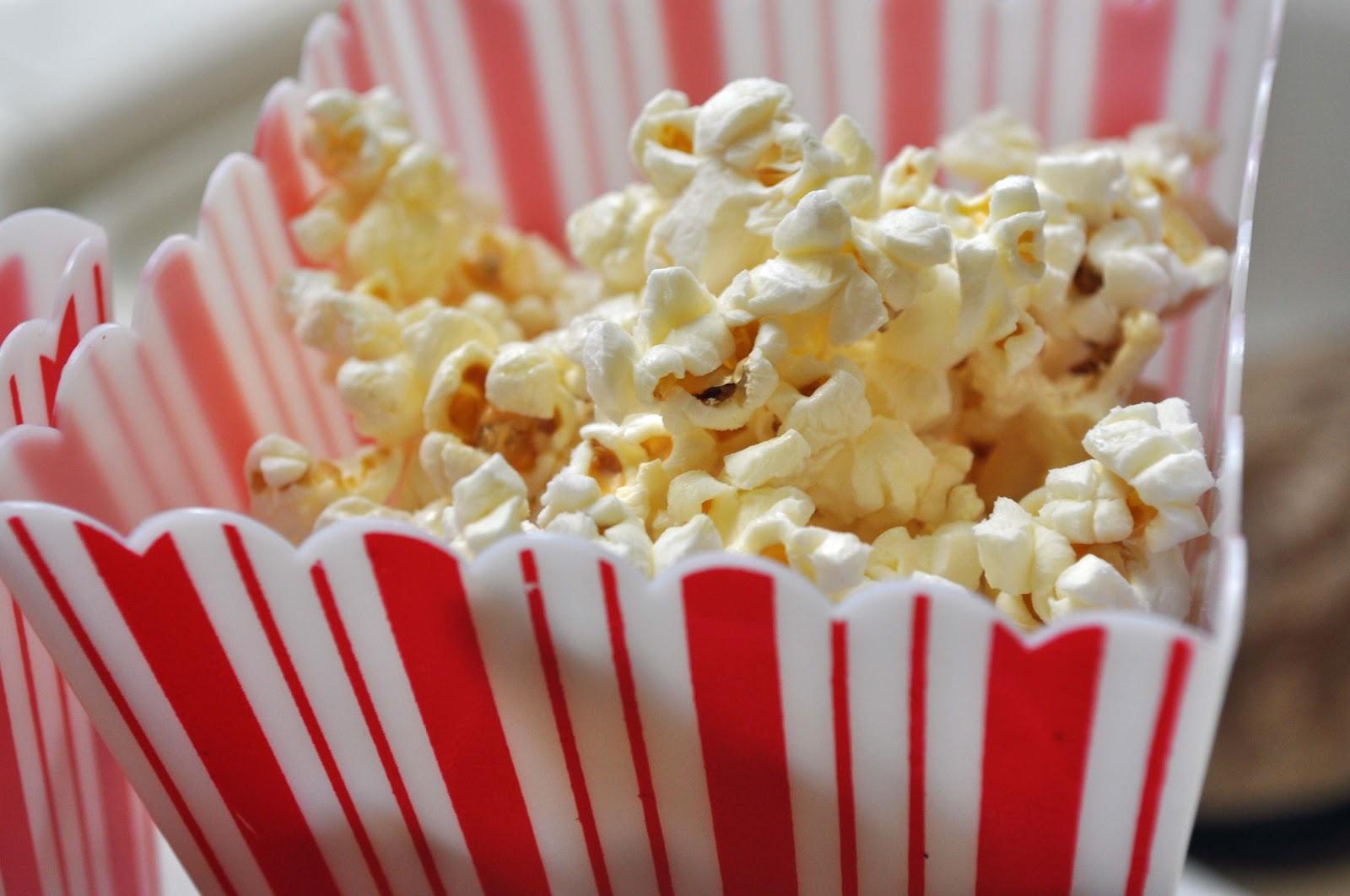 Homemade Microwave Popcorn - Laura K. Bray Designs