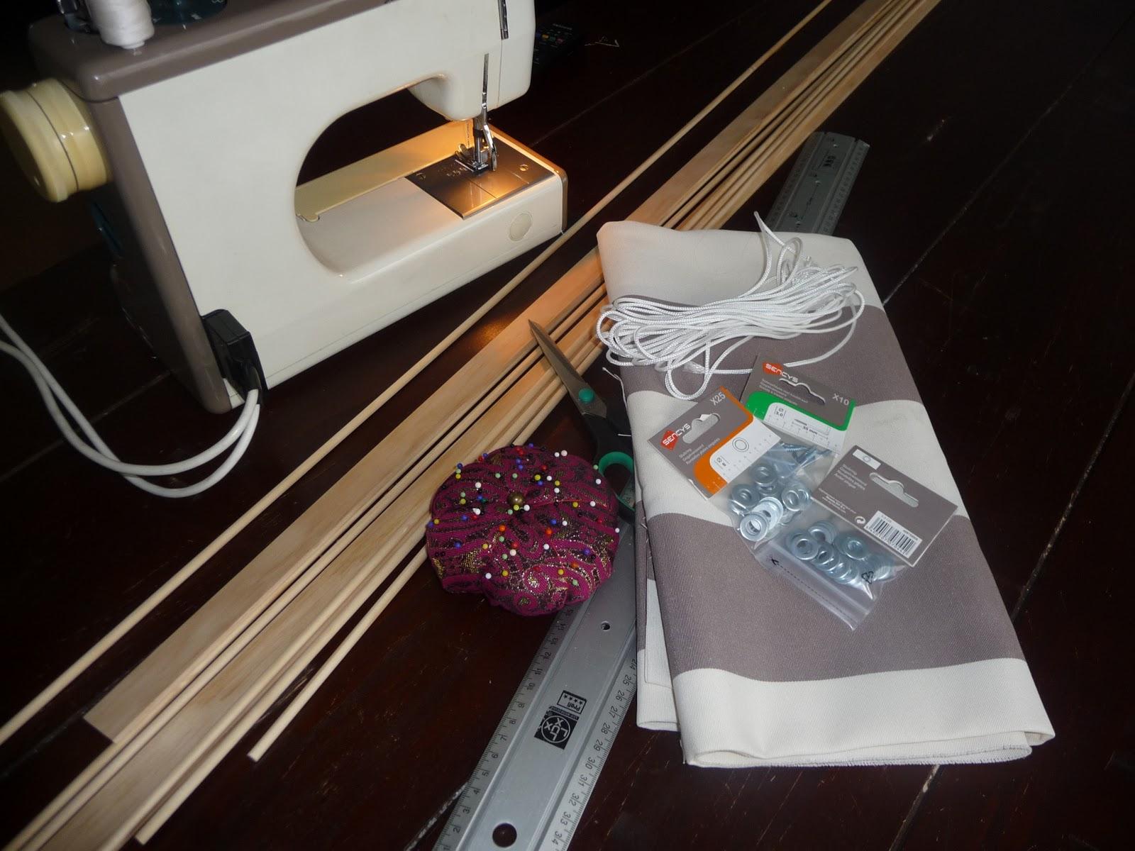Zelf vouwgordijnen maken ben creatief