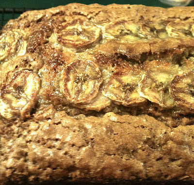 Manly Banana Bread- a dense, full flavored banana bread well worth the effort!