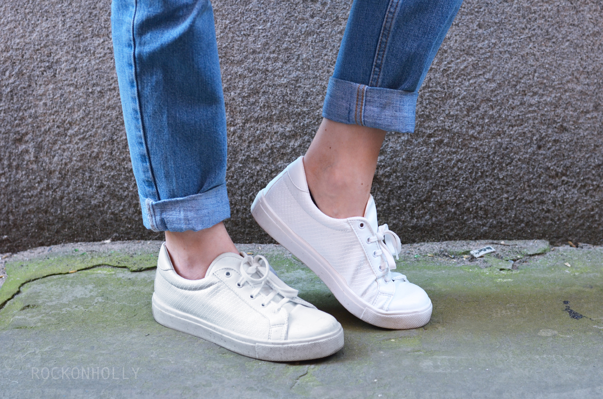 Topshop Copenhagen Trainers on Rock On Holly Blog
