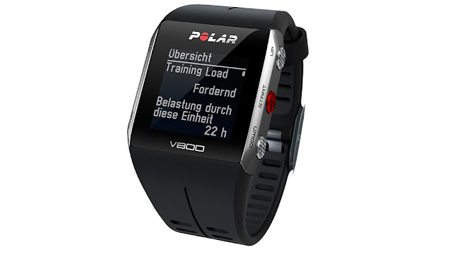 The heart rate monitor Polar V800 in Test