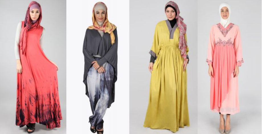 baju musli wanita modern berbahan gamis
