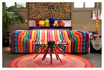 sofá tecido de design