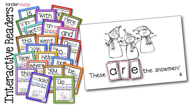 emergent readers for sight word practice