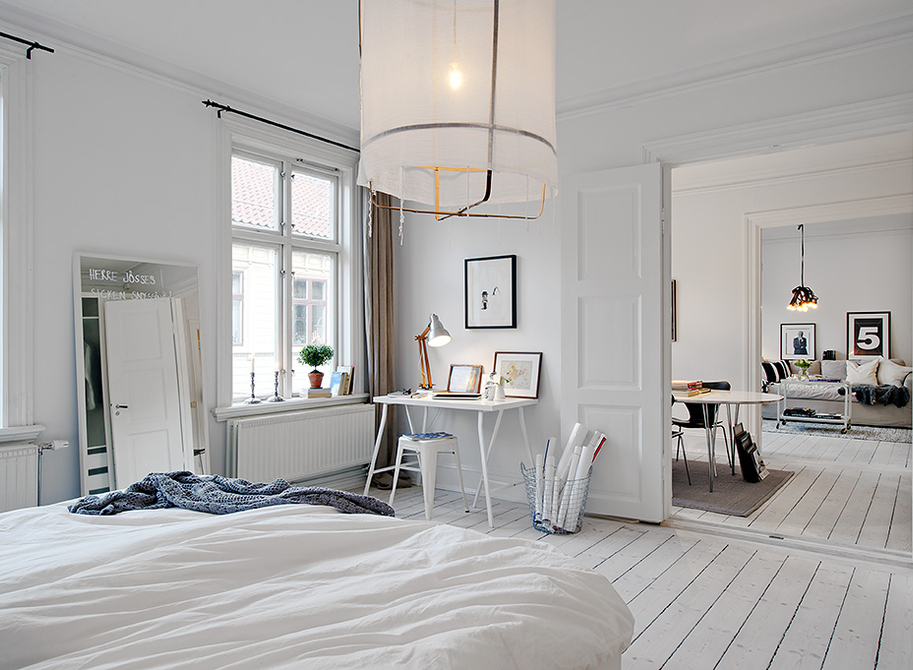 Scandinavian Interior White